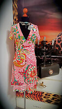DESIGUAL  GR.S Original Damen Boho used stretch Kleid Strass