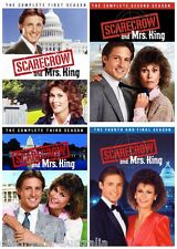 SCARECROW & MRS KING COMPLETE SERIES SEASON 1 2 3 4 COLLECTION NEW 20 DVD R4