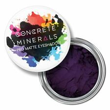 Concrete Minerals Queen Royal Purple Pro Matte Eyeshadow Cruelty Free Vegan