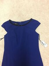 Nine West Royal Blue Dress Size US8= AU12 Retail Price AUD$150