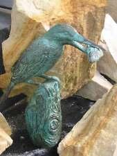 Bronzeskulptur, Eisvogel, Haus und Gartendekoration, Bronze, Figuren