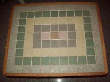 50-60 Jahre Rockabilly Tisch Beistelltisch mit Mosaik Fliesen