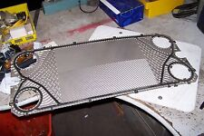 NEW ALFA LAVAL UA29 05 STAINLESS STEEL GASKETED HEAT EXCHANGER PLATES