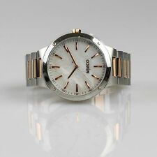 MIMCO Dietrich Watch Soft Rose Gold Silver BNWT RRP$299 + Box + Free Express