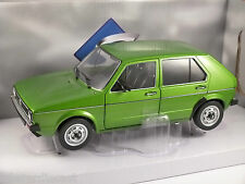 VOLKSWAGEN GOLF CL Mk1 5dr in Green 1/18 scale model by SOLIDO