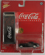 "Johnny Lightning - Chrysler Atlantic Concept Car schwarz ""Coca-Cola"" Neu/OVP"