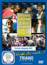 """Geschenk-DVD """"Unsere Jugend-Jahre in den 80ern"""" für den Jahrgang 1974***NEU"""