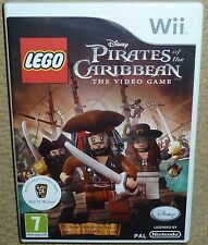 LEGO PIRATES OF THE CARIBBEAN GAME NINTENDO Wii BRAND NEW FACTORY SEALED! Disney