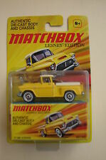 Matchbox Lesney Edition 2011 1/64 1957 GMC Stepside Diecast Yellow
