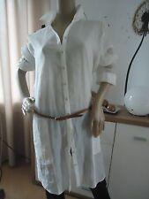 ESPRIT Leichtes Hemdkleid aus Leinen-Mischung Größe XL NEU mit Etikett!