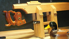 SAW SHARPENING CLAMP & GUIDE PLANS, SHARPEN THAT CLASSIC DISSTON, WOOD IS BETTER