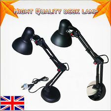 New LED Adjustable Desk Table Lamp Clip On Craft Beside Reading Light UK Stock