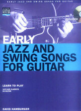 Early Jazz and Swing Songs Songbook Guitar Gitarre Noten Tab mit CD