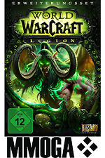 World of Warcraft Legion Code - WoW Add-On Battlenet Download Key PC MAC [DE/EU]