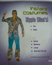 Adult mens hippie costume party 60's 70's