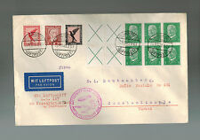 1929 Germany Graf Zeppelin  Cover Middle East Flight to Turkey LZ 127