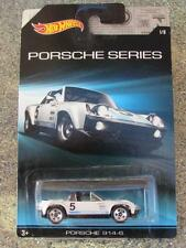 Hot Wheels 2015 Porsche series #1/8 PORSCHE 914-6 white