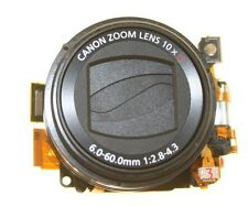 CANON POWERSHOT SX 100 IS BLACK LENS UNIT OPTICAL GENUINE WITH CCD