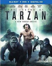 THE LEGEND OF TARZAN (BLU-RAY/DVD 2016) BRAND NEW~ 2 DISC SET~ DIGITAL COPY~