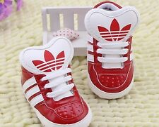 BRAND NEW Adidas Pu Lace Style Baby Boys/Girls Soft Bottom Trainers..