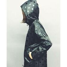 New with tags! GORMAN Black Polka dot raincoat coat jacket * size S/M