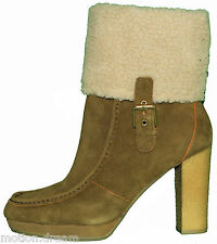 "ROCKPORT Women's COURTLYN FUR LOW BOOTSize 9 ""Brand New""RRP$220.00"