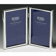 """SILVER SPECIAL DOUBLE PICTURE PHOTO FRAME 4"""" x 6"""""""