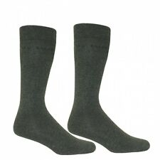 Ted Baker Plain 2-Pack Charcoal Socks