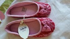 ♡♡♡ BNWT RRP $49.95 Peter Alexander  Pale Pink Flats Ballet Size 7