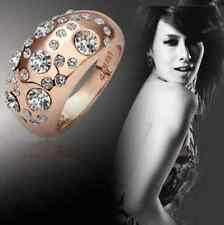 Women's Ring Ring Present Style Classy Stone Chen Copper Colours Bling Hot