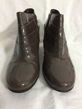 Clark's Women's Ankle Boots Patent Leather Shoes Size Uk  8