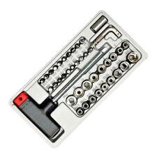 41 tlg. Steckschlüsselsatz T-Griff Schraubendreher Schraubenzieher Stecknüsse