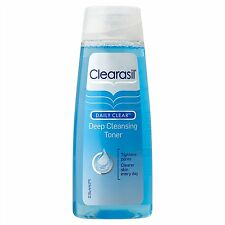 Clearasil Daily Clear Deep Cleansing Toner Lotion Tightens Pores Clearer 200ml
