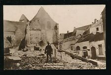 Military WW1 France MALINES Ruins The Great War Unused RP PPC
