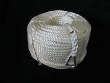200MTRS X 10MM NYLON ANCHOR ROPE WITH STAINLESS STEEL THIMBLE