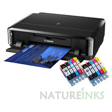 Canon Pixma iP7250 Colour A4 Inkjet CD discs Printer Wi-Fi Usb + 2 set XL Inks
