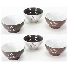 6 Stück Müslischalen Keramik Salatschalen Suppenschalen Dessertschalen Schalen