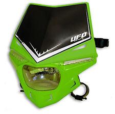 Ufo Lampenmaske Scheinwerfer Stealth universal e-geprüft grün