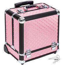 Kosmetikkoffer Alu Beauty Case Schminkkoffer Trolley Schmuckkoffer pink