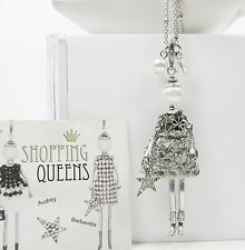 PEES SHOPPING QUEEN BABY DOLL - MARIE - Kette 80cm Puppen Anhänger Charms