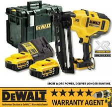 DeWalt DCN660P2 18v XR Brushless Second Fix Finishing Nailer & DS400 5Ah Bat NEW
