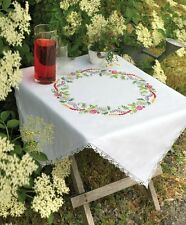 Anchor - Embroidery Kit - Tablecloth - Summer Daisies - 09333