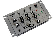 Hollywood MX-22   3 KANAL DJ MIXER