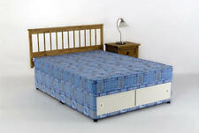 Double Divan Bed + Mattress 4ft 6in Tanya SLIDE STORAGE