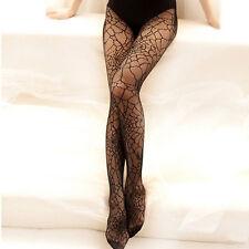 Women Pantyhose Thin Stockings Tights Elastic Spider Web Net Hosiery Long Socks
