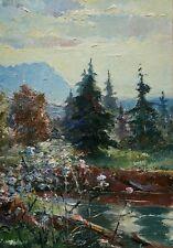 Franz Marx (*1889) Öl-Gemälde alt Impressionismus Münchner Schule Landschaft