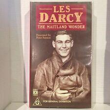 LES DARCY ~ THE MAITLAND WONDER ~ BOXING ~ RARE VHS VIDEO
