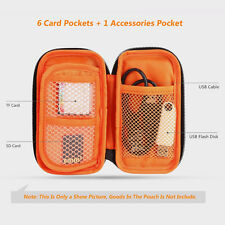 Micro 6-slot Pouch Digital Camera SD TF CF Card  Storage Wallet Bag Holder Case