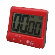 Large LCD Digital Kitchen Timer Count-Down Up Clock Loud Alarm GU