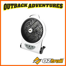 "OZTRAIL 10"" FAN 12V / 240V RECHARGEABLE PORTABLE CAMP CAMPING"